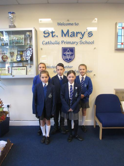 Pupils who attended the creative writing workshop.