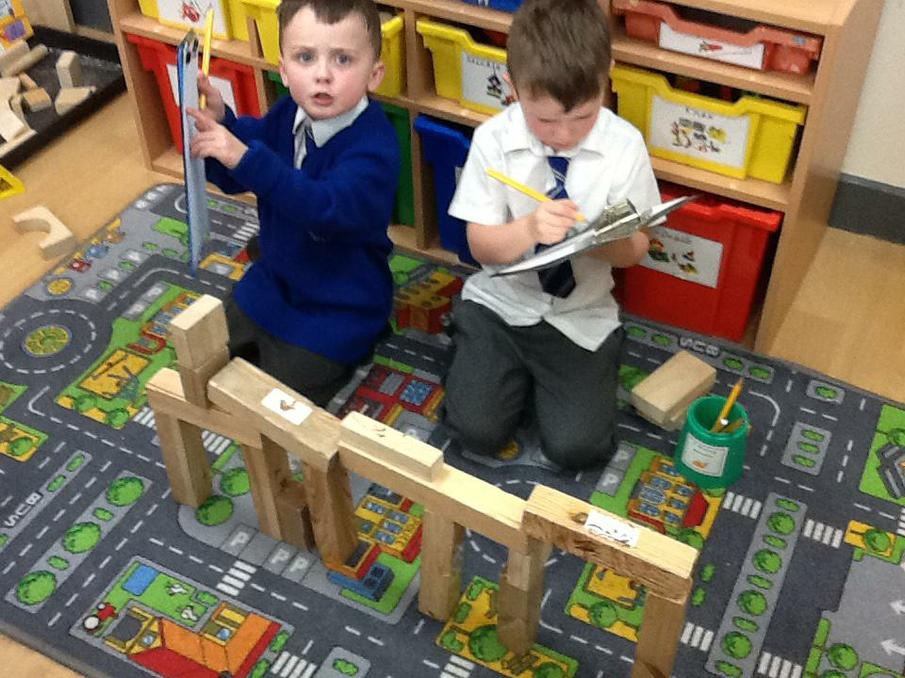 Designing a bridge for the 3 Billy Goats.