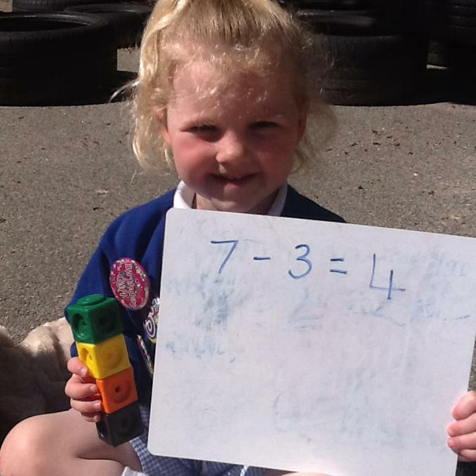 We have been revising subtraction.