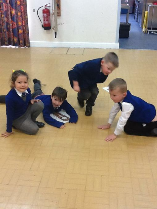 We have been learning how to recognise o'clock.