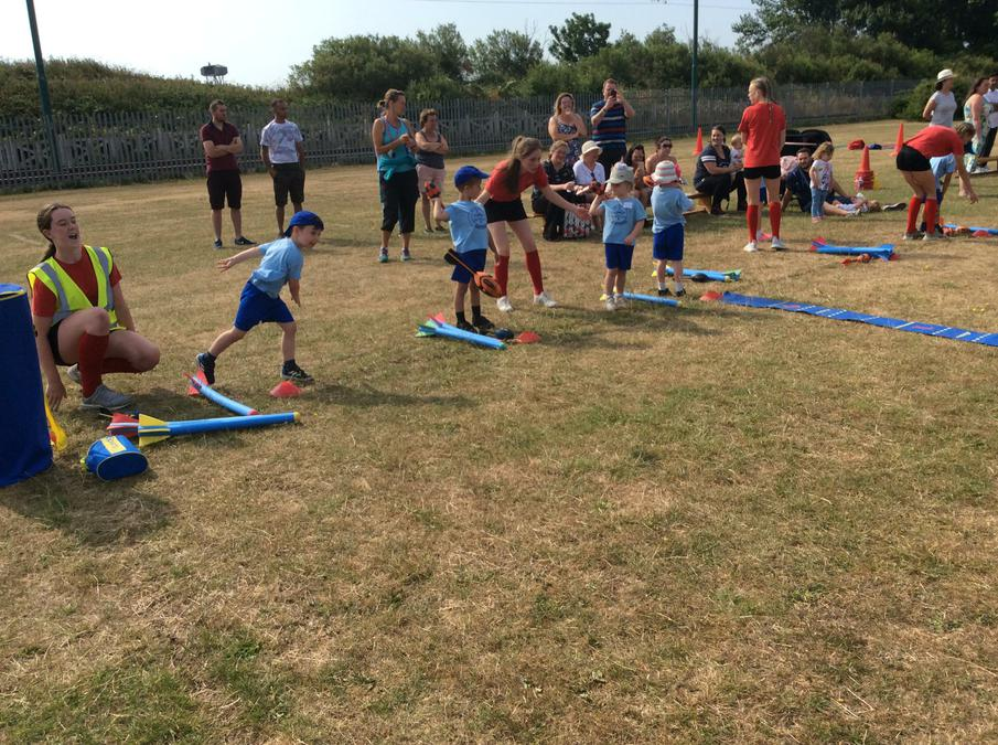 Reception had a fantastic time on Sports Day