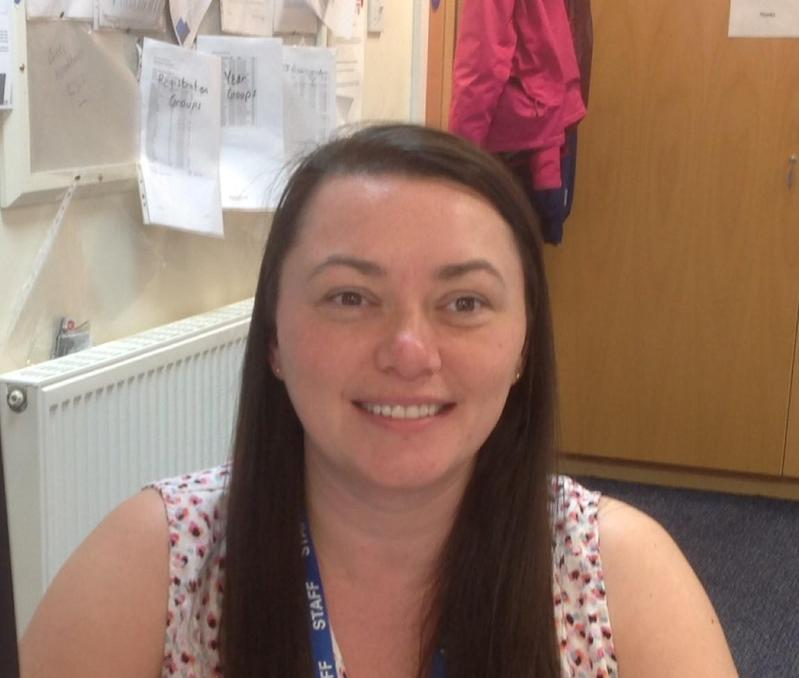 Mrs Naomi Whittaker - Administrative Assistant