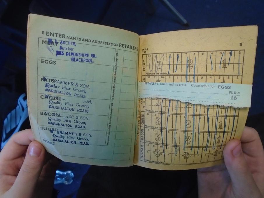original ration book