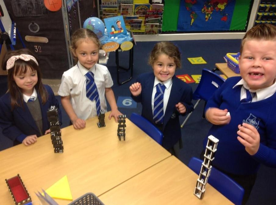 Who can build the tallest tower?