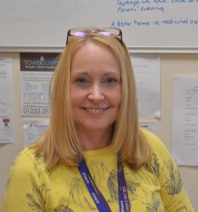 Mrs Karen Tew - School Business Manager