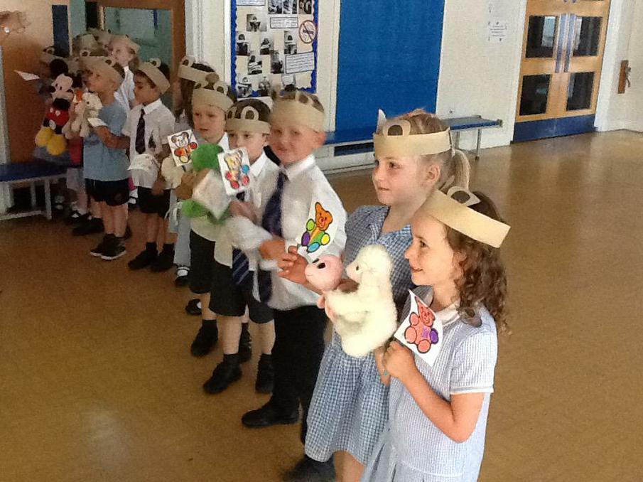 The school Teddy Bears Picnic.