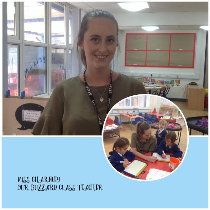 Miss Victoria Charnley - Teacher
