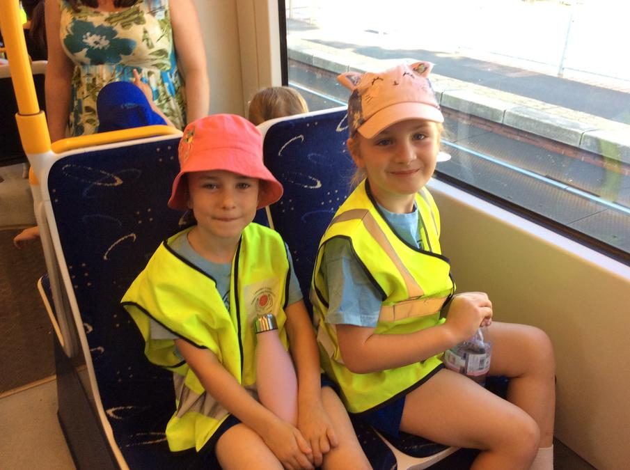 We got the tram to Cardinal Allen