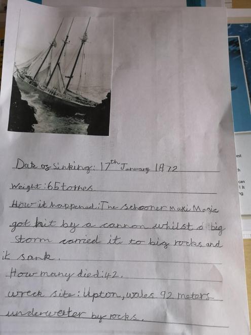 Louise's ship[wreck