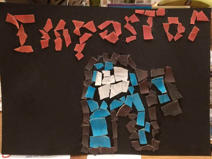 Eddie's impostor mosaic