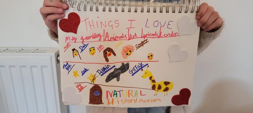 Ava's things I love poster