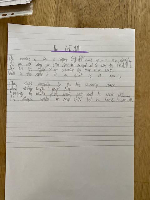 Florence's poem