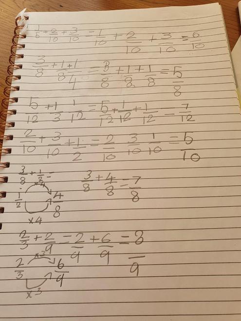 Ella's fractions