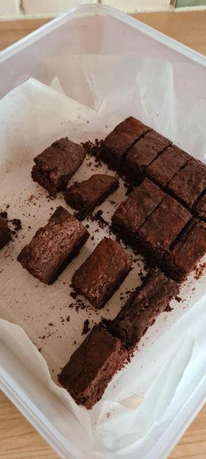 Sam's scrumptious brownies