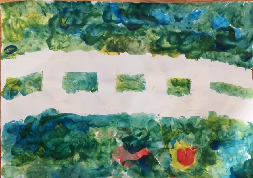 Eddie's Monet painting