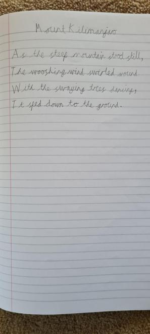 Sam's poem verse