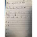 Rose's writing