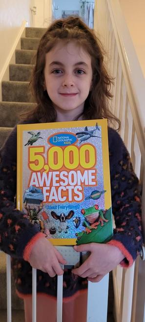 Ava's new facts book