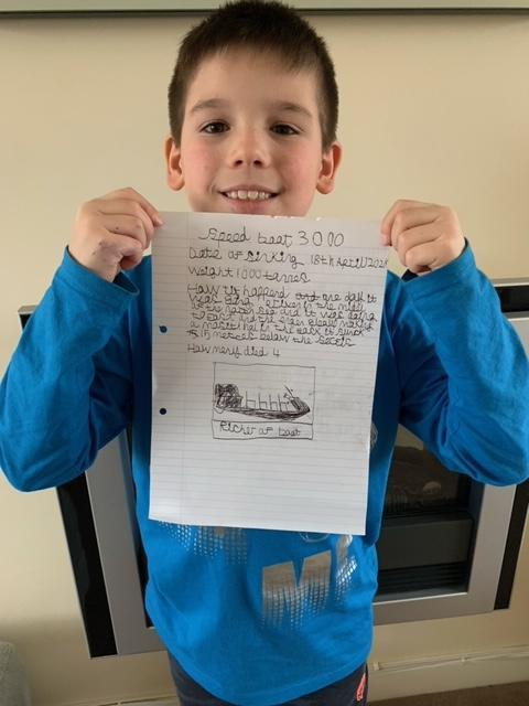 Finn's shipwreck