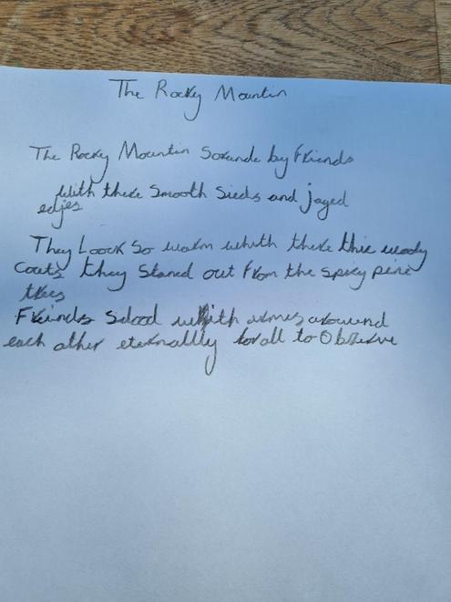 Ruby's poem verse