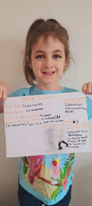 Ava's Storm Chasers book review
