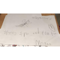 Megan's Hairy Maclary writing