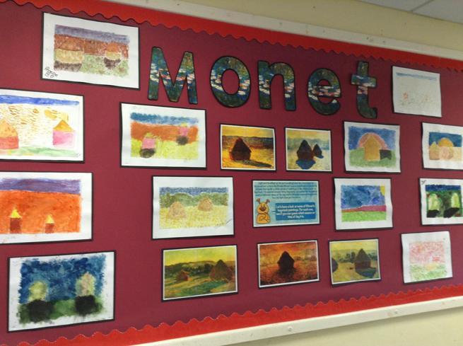 Class 5 - Art:Monet