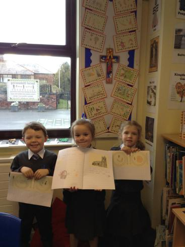 Year One have been learning all about the importance of the Harvest Festival.