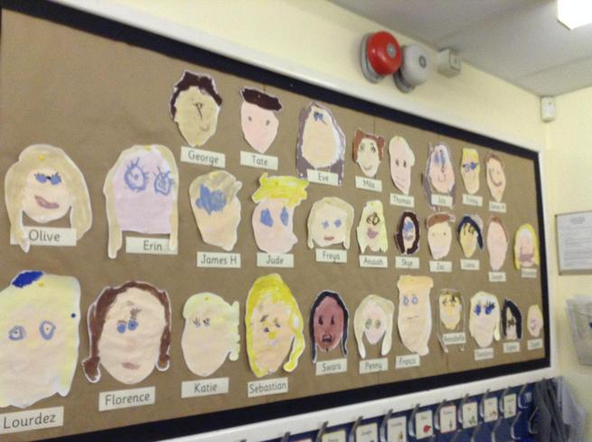 Reception- self portraits