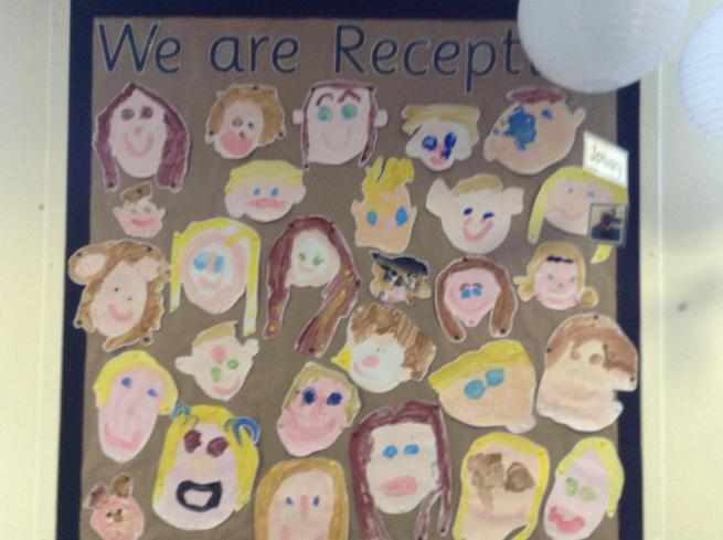 Reception - self-portraits in paint