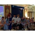 Mary Poppins dress rehearsal