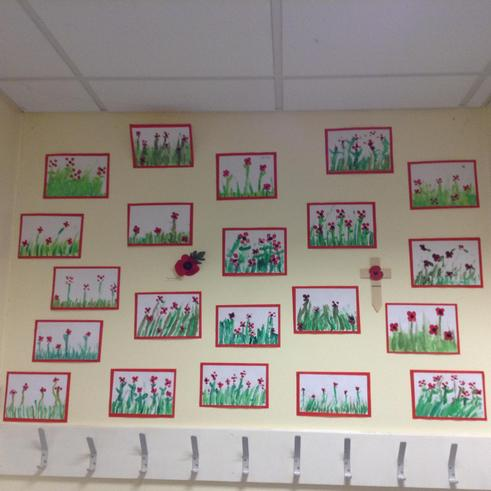 Year 4 poppies