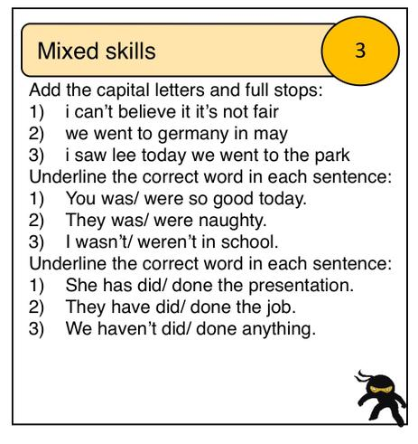 Mixed skills