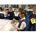 Examining different types of photograph frames.