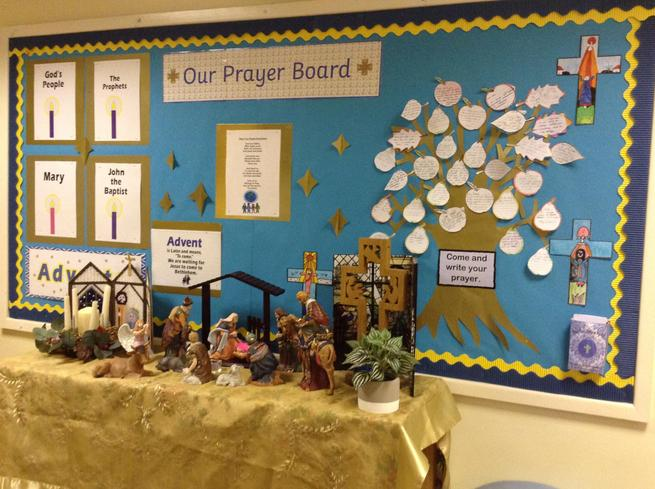 Advent Prayer Board