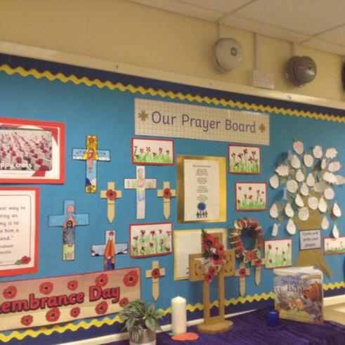 Remembrance Prayer Board