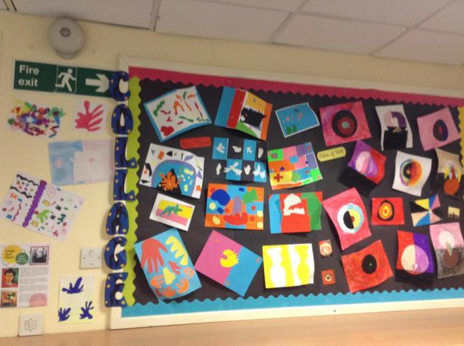 Class 4 - Art: Collage
