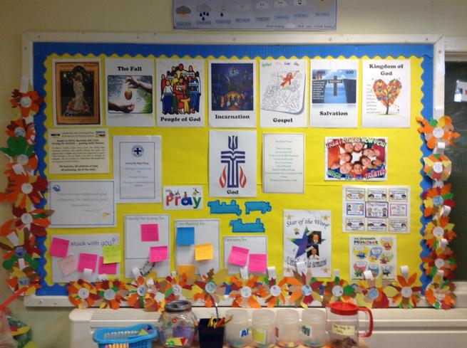 Year 4 - Prayer board