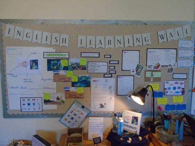English Learning Journey - letter writing Year 2