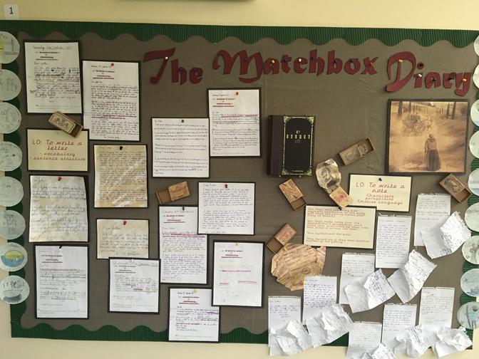 English Story Writing - The Matchbox Diary