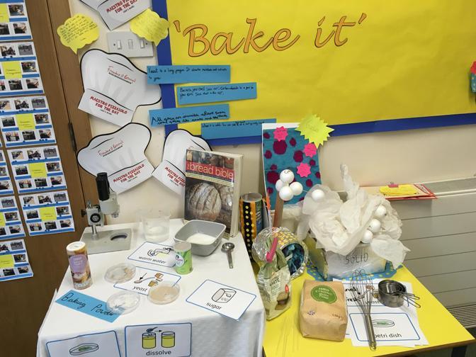 Bake It! Science display