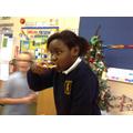 Food tasting, nann bread