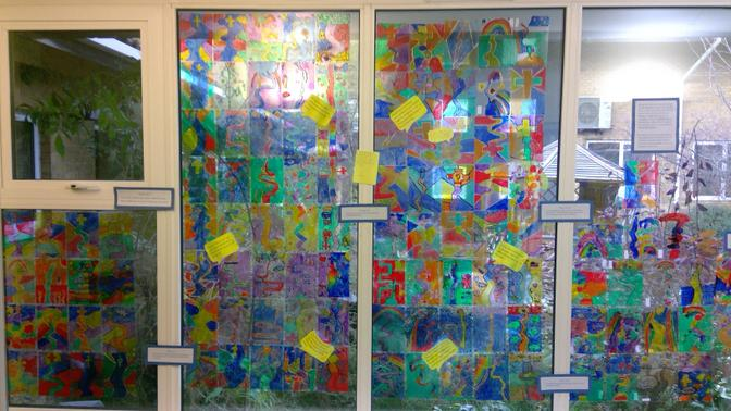 Journey Through Life Stained Glass Windows