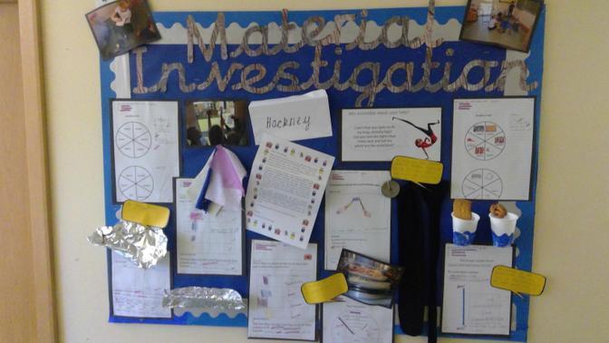 Science investigation into materials
