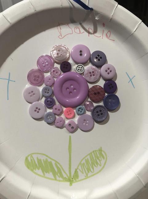 Darcie's button flower