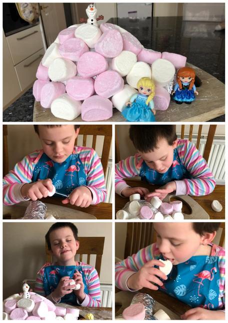 Tayen's marshmallow igloo