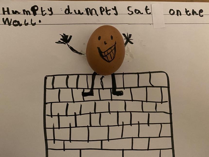 Zach's Humpty Dumpty