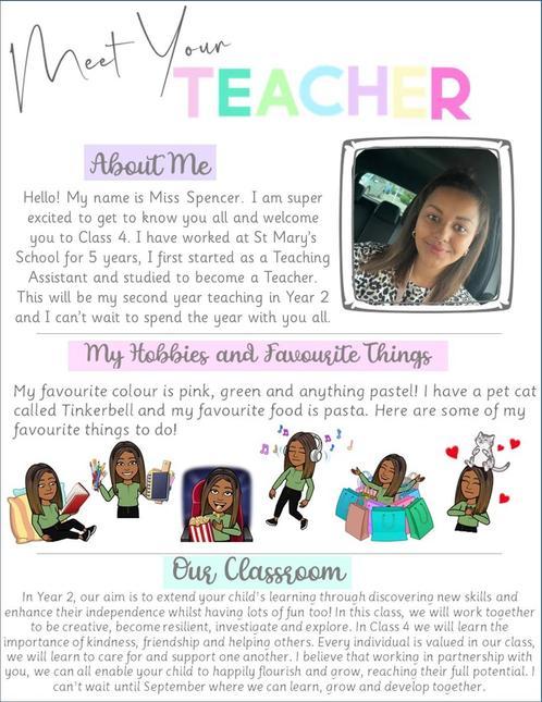 Class 4 - Miss Spencer