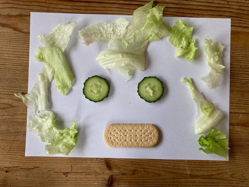 Ana's salad face