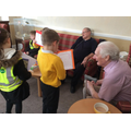 Y2 visit the Rosary Nursing Home